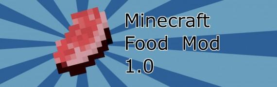 Minecraft Food Mod 1.0