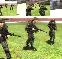 Reskinned WIC Soldiers For Garry's Mod Image 1