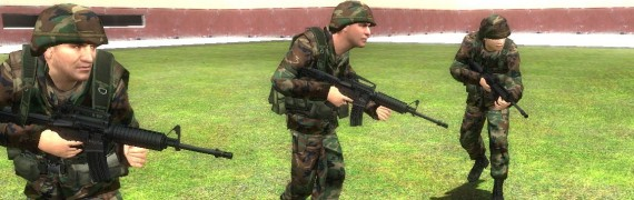 Reskinned WIC Soldiers
