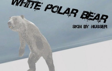 whitepolarbear.zip For Garry's Mod Image 1