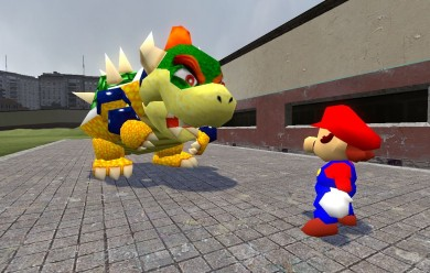 (SM64) Bowser Ragdoll V1 For Garry's Mod Image 2