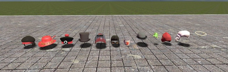tf2_hat_prop_pack.zip For Garry's Mod Image 1