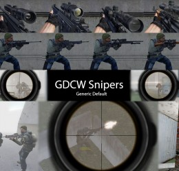 GDC Sniper Weapons For Garry's Mod Image 1