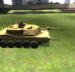 drivable Tank with turrets.zip For Garry's Mod Image 1