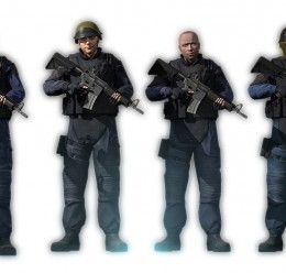 CS:GO GIGN with BMS Head. For Garry's Mod Image 1