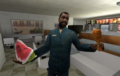 Chicken Stick For Garry's Mod Image 1