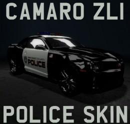 camarozl1police.zip For Garry's Mod Image 1