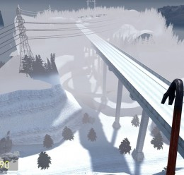 gm_outland_bridge_snow For Garry's Mod Image 2