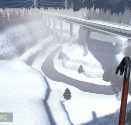 gm_outland_bridge_snow For Garry's Mod Image 3