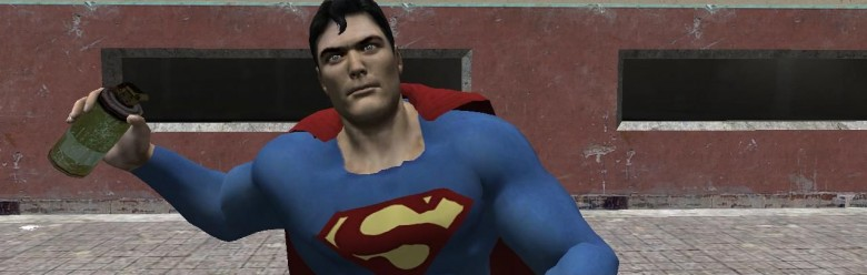 superman_player_model.zip For Garry's Mod Image 1