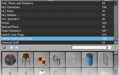 Tabbed Prop Spawn Menu 1.1 For Garry's Mod Image 2