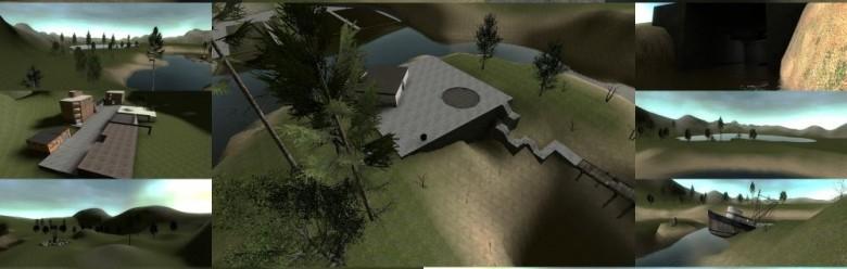 gm_grasswater.zip For Garry's Mod Image 1