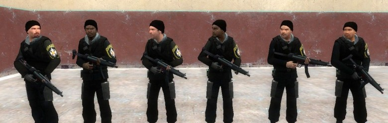 Serbian Soldiers (Rebel Skin) For Garry's Mod Image 1