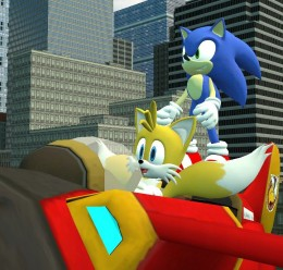 Sonic,Tails,Amy,Blaze Reskins. For Garry's Mod Image 2