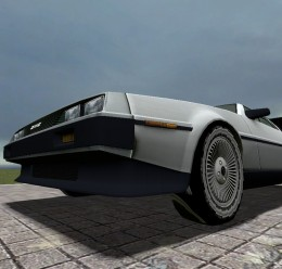 DMC DeLorean Time Machine For Garry's Mod Image 1