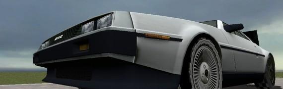 DMC DeLorean Time Machine