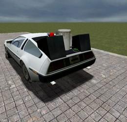 DMC DeLorean Time Machine For Garry's Mod Image 2