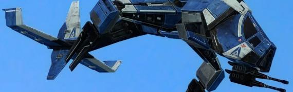 ME3 Gunships + Normandy