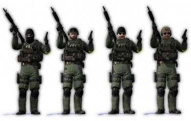 CS:GO FBI with BMS Heads For Garry's Mod Image 1