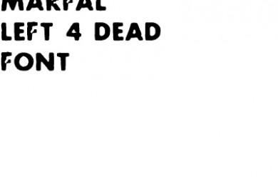 left 4 dead font , text.zip For Garry's Mod Image 1