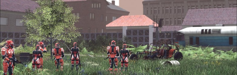Mass Effect Mercenaries Male For Garry's Mod Image 1