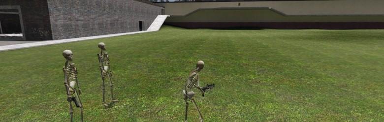Skeleton Playermodel.zip For Garry's Mod Image 1