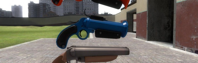 Torcher's Twin Barrel For Garry's Mod Image 1