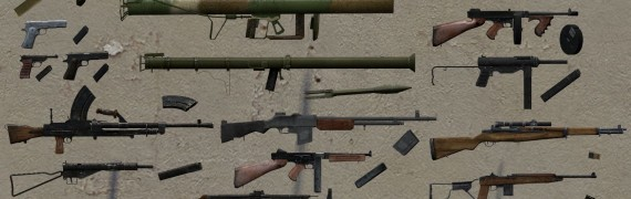 Brothers in Arms Weapon Pack