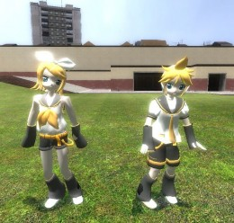 Rin Kagamine Player Model For Garry's Mod Image 3