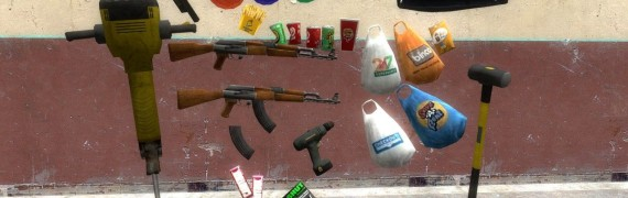 GTA IV Huge Props Pack